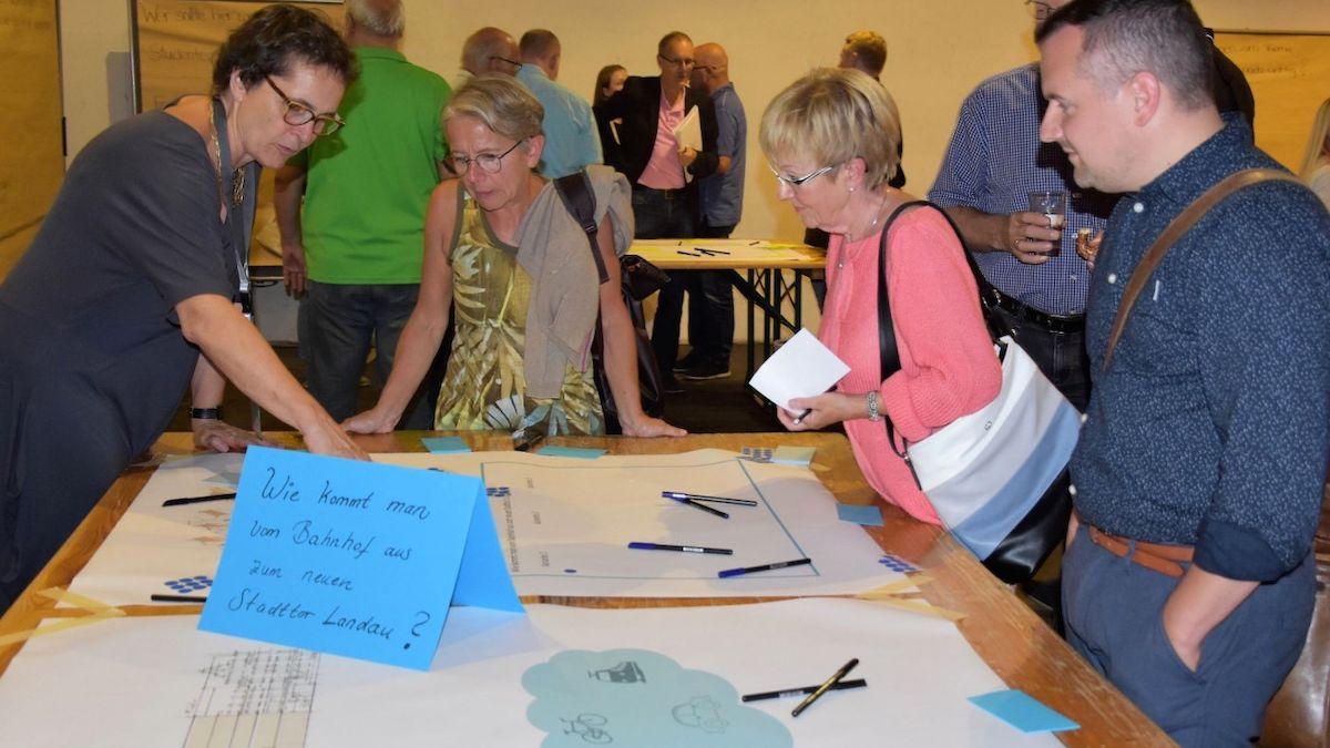 Nachbericht Bürgerworkshop Ideen Für Ein Neues Stadtor Landau